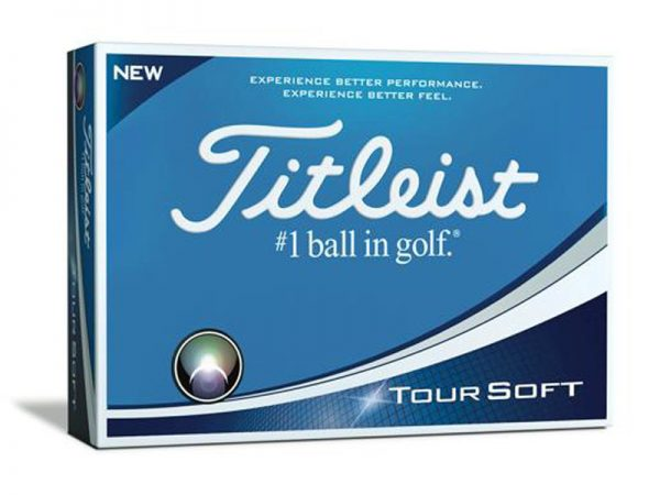 BOLA TITLEIST TOUR SOFT