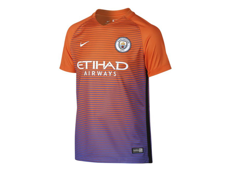 CAMISETA DEL MANCHESTER CITY ANARAJADA